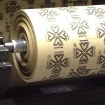 Printed gasket material roll